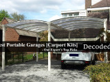 Best Portable Garages Top Picks By Decoded Stuff