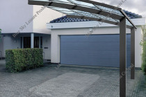 Aluminum Frame Driveway Gate Canopy Carports For Car ..
