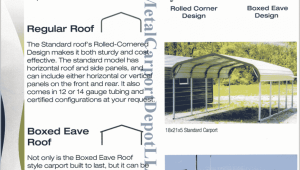Answers To FAQ About Metal Carports & Metal Buildings Arched Roof Carports
