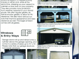 Answers To FAQ About Metal Carports & Metal Buildings Metal Carports With Garage Door