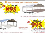 best carport for snow all steel northwest has the best prices on metal carports carport collapse snow