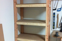 best garage shelving plans ideas build building landing and stairs for diy steel kits 24×24 home design by larizza cost to car on