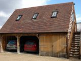 Border Oak Oak Framed Garage With Accommodation Above ..