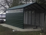 C 11: 11x11x11 Carport Midwest Steel Carports How To Anchor A Portable Carport