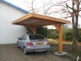 Car Port With Garbage Can Alcove To Right | Remodel ..