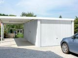 Carport Garage Kombination | Home Design & Redecorate Ideas Carport Genehmigt Garage Gebaut