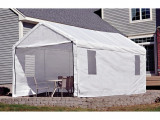 Carport Garage White Waterproof Uv Protectant | Raised ..