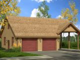 Carport In Front Of Garage Wood Carports And Garages Single ..