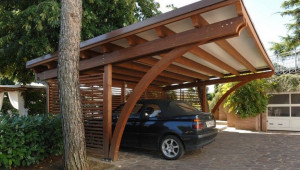 Carport In Legno 05 | Architecture: Cottages/Tiny Houses Carport Holz Modern