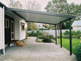 Carport New With Pitched Roof Truss Sams Garden Shed Store ..