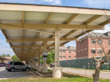 Carport Solutions For Parking Lots | Baja Carports Parking Under Carport