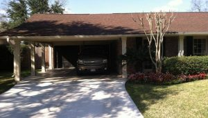 Carport To Garage Conversion ~ Everhart Construction Carport To Garage Conversion