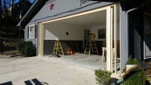 Carport To Garage Conversion | Overhead Door Of Georgia Carport Garage Conversion
