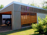 Carport With Half Height Walls Florida Shed Carports And Awnings Carport Modern Design