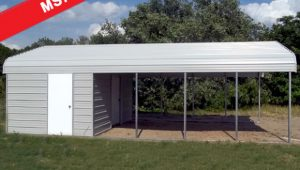Carport With Storage Shed Attached | Citizenhunter