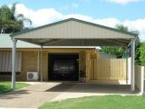 Carports | Fully Constructed & DIY Kit Options | Colorbond Steel Carports Added To Front Of Garage
