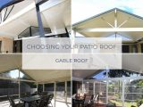 Choosing Your Patio Roof Gable Roof Atlas Awnings Hip Roof Carports Brisbane