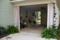 Clever Use Of Carport… Turned Breezy Patio! | Creative ..