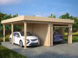 Combined Garage And Carport With Up And Over Doors Type H ..
