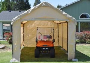 Costco 781893 10×20 Canopy Tent Assembly Instructions Costco Portable Garage Costco Steel Frame Canopy