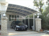 Curved Roof Carport With Polycarbonate Sheeting Buy ..