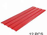 Details About 10 PCS Corrugated Roof Sheets Profile Galvanized Metal Roofing Carport Red Carport Metal Roof Installation