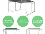 Details About Vehicle Shelter 11.11m X 11m X 11
