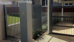 Driveway Gates Perth | Feature Fencing Carport Wooden Gates