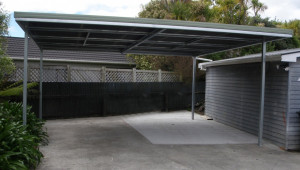 Flat Roof | Carports | Totalspan New Zealand Clear Roof Carports