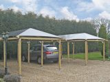 Wooden Free Standing Carports