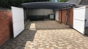 Garage Attached Double Carport/Work Area Installed In ..