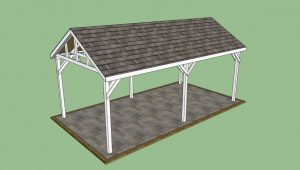 Garbage Can Shed Plans: Wooden Carport Kits Wooden Plans Carports Wooden Kits