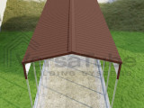 Grand RV Cover 8 X 8 X 8 Carport Or Shelter ..