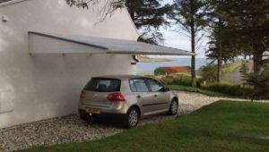 #GRP Cantilever #canopy #carport Fitted In Scotland. Had ..