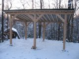 Ham: Build Firewood Shed Learn How Wooden Carport And Shed