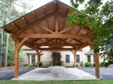Houston Timber Frame Traditional Garage Houston By ..