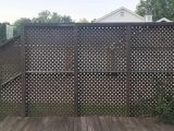 How To Build An Inexpensive Slat Wood Privacy Fence A ..