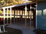 How To Close In A Carport 8/8 Turn Metal Carport Into Garage
