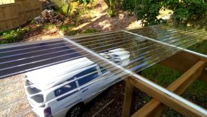 How To Install Polycarbonate Roofing Carports With Clear Roof