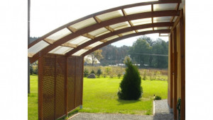 Jagram Ludlow Lean To Carport Wooden Lean To Carports