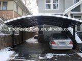 Japan High Snow Load Aluminum Flat Roof Carport With ..