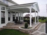 Lean To Patio Covered Garage Patios Ideas Doors Detached ..