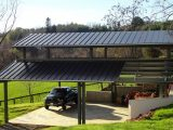 Metal Carports | Covered Parking | Roof Only Buildings Carport Roof Metal