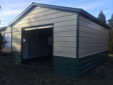 Metal Garages NC | Prefab Garage Prices | Metal Carport Garage Metal Carports With Garage Door