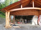 Middlesex Timber Frame Carport Eclectic Shed ..