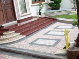 Motif Batu Sikat Untuk Carport | Floors, Pathways And … Di ..