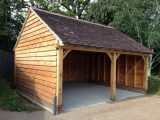 Oak Framed Garage / Cart Lodge In Garden & Patio, Garden ..
