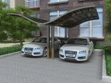 Outdoor Polycarbonate Aluminum M Style Carport For Car ..