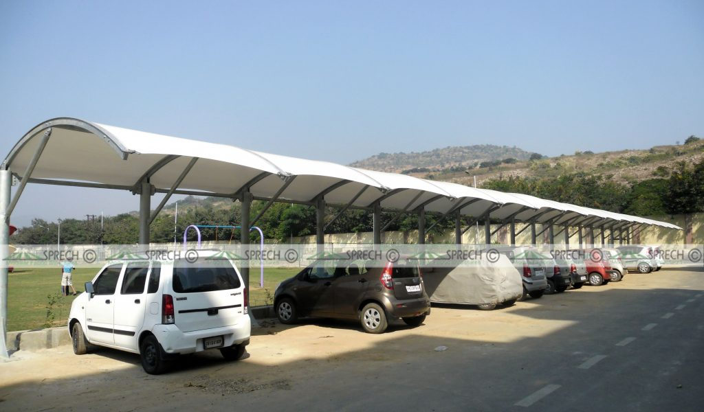 Pin By Tension Fabric Canopy On Car Parking Shed Designs ...