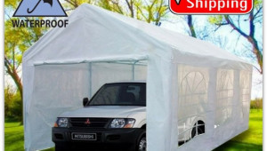 Portable Carport Canopy 10×20 With Metal Frame Kits Garage ..